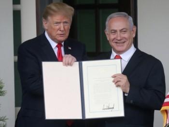 Mỹ công nhận Golan thuộc Israel, Syria kêu gọi HĐBA họp khẩn