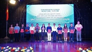 Đài PT-TH tỉnh Thái Nguyên công bố các quyết định sắp xếp lại tổ chức bộ máy