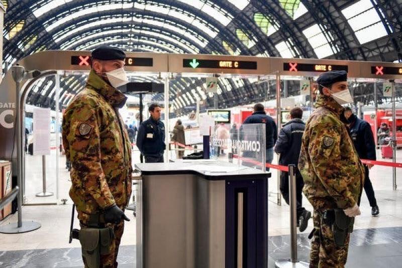 """Italy áp dụng """"quy định khắt khe"""" trên toàn quốc đối phó với COVID-19"""
