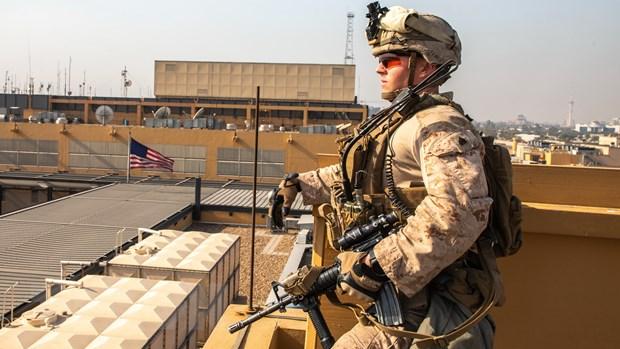 Iraq: Rocket được phóng xuống gần Đại sứ quán Mỹ ở Vùng Xanh
