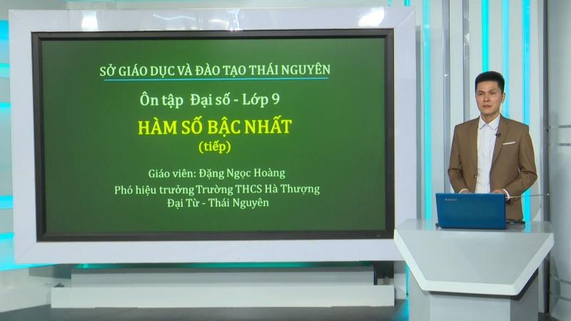 on tap kien thuc pho thong mon dai so lop 9 ham so bac nhat bai hoc so 2