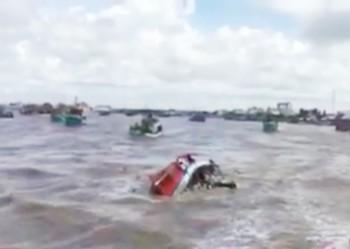 Tìm thấy thi thể cô gái mất tích trong vụ chìm tàu tại Bạc Liêu