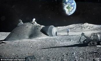 Con người sẽ đổ bộ lên mặt trăng, sao Hỏa sinh sống trong các hang động?