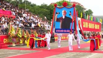 khai mac dai hoi the duc the thao tinh thai nguyen lan thu viii nam 2018