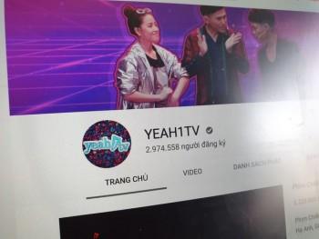 Yeah1 gia hạn thêm 2 tuần với Youtube về thỏa thuận lưu trữ nội dung