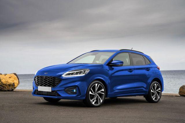 Ford chuẩn bị trình làng mẫu crossover giá rẻ Puma