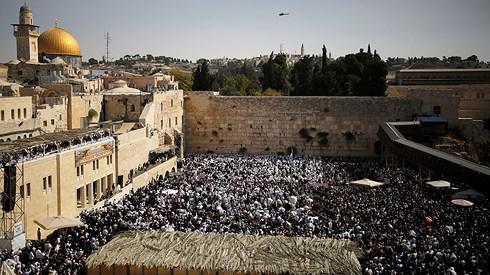 israel bao dong an ninh truoc ngay my khai truong su quan o jerusalem