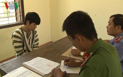 khoi to doi tuong chem cong an bi thuong