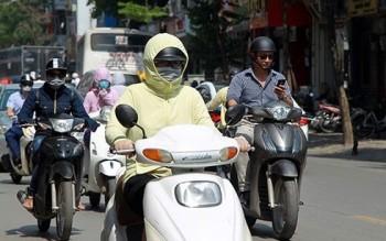 Nắng nóng tiếp tục kéo dài ở các tỉnh miền Bắc và miền Trung