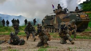 Hàn Quốc sẽ tiếp tục cuộc tập trận chung với Mỹ vào tháng 8