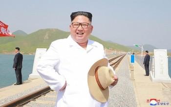 Hình ảnh đầu tiên về ông Kim Jong-un sau khi Mỹ hủy Thượng đỉnh