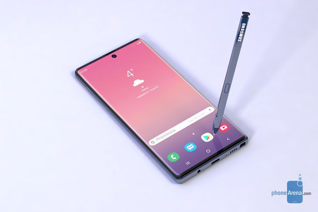 galaxy note10 se co pin lon nhat tu truoc den nay them mau moi