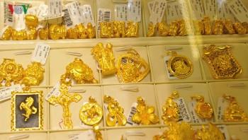 Giá vàng SJC đi ngang trong phiên giao dịch đầu tuần