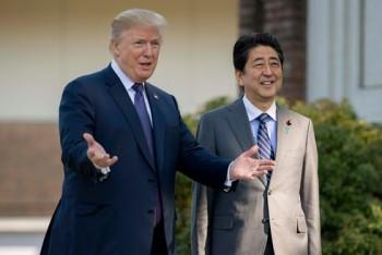 Tổng thống Mỹ tiếp Thủ tướng Nhật Bản tại Nhà Trắng