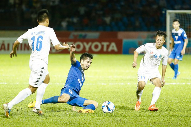nhung cau thu nao choi sang o v league co the khoac ao doi tuyen viet nam