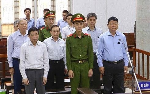 Ông Đinh La Thăng hầu tòa phúc thẩm vụ PVN góp 800 tỉ vào Oceanbank