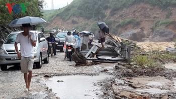 Lai Châu hoàn toàn bị cô lập do mưa lũ