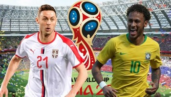 Serbia - Brazil: Neymar tiễn Matic về nước?