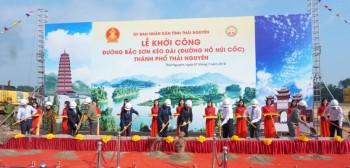 thai nguyen khoi cong xay dung duong bac son keo dai duong ho nui coc thanh pho thai nguyen