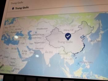 Facebook nhận lỗi vì 'đưa' Hoàng Sa và Trường Sa về Trung Quốc