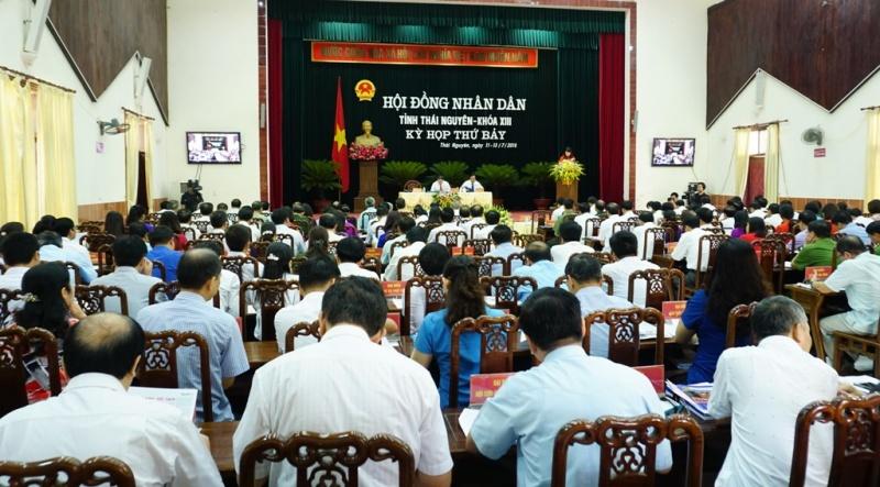 khai mac ky hop thu 7 hdnd tinh thai nguyen khoa xiii nhiem ky 2016 2021