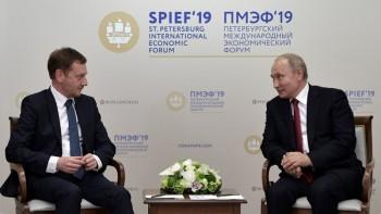 Thủ hiến bang Saxony của Đức mời Tổng thống Putin tới thăm