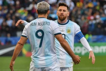 messi nhan the do argentina nhoc nhan gianh hang ba copa america