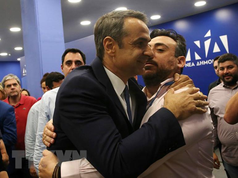 Đảng đối lập thắng lớn tại bầu cử lập pháp Hy Lạp