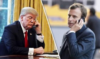 Tổng thống Mỹ và Pháp điện đàm về chương trình hạt nhân của Iran