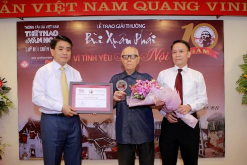 chong nsnd nhu quynh dat giai thuong bui xuan phai 2017