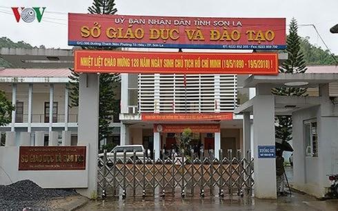bo gd dt khang dinh se khoi phuc duoc du lieu bai thi goc o son la