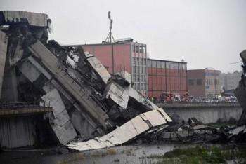 Italy nỗ lực cứu hộ các nạn nhân vụ sập cầu tại Genoa