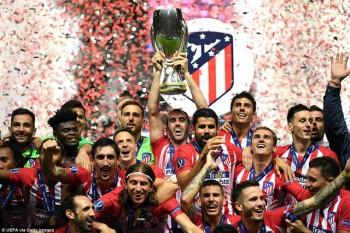 Thắng nghẹt thở Real Madrid, Atletico giành Siêu Cup châu Âu 2018
