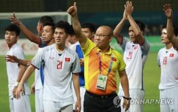 Báo Hàn Quốc nói gì sau chiến tích lịch sử của Olympic Việt Nam?