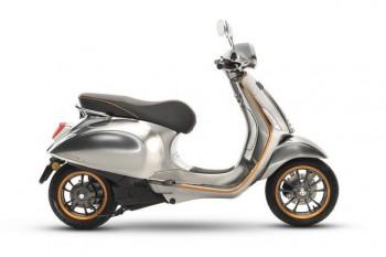 vespa bat dau san xuat scooter chay dien electtrica