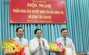 Bộ Chính trị chuẩn y tân Bí thư Tỉnh ủy Bến Tre