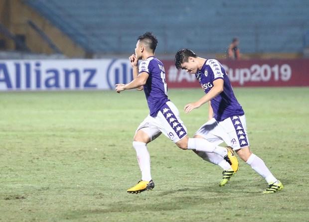 Quảng Hải tỏa sáng, Hà Nội FC ngược dòng đánh bại Altyn Asyr