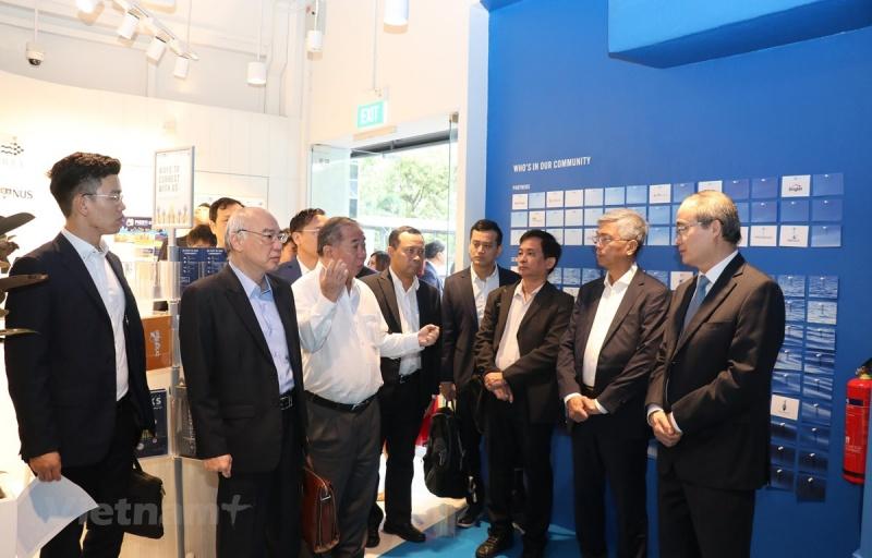 TP Hồ Chí Minh thúc đẩy hợp tác khởi nghiệp sáng tạo với Singapore