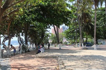 Dân được thụ hưởng công viên 5.000 m2 từ dự án chắn biển Nha Trang