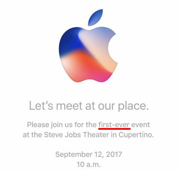apple an chua bi mat ve iphone 8 trong thu moi su kien ra mat san pham