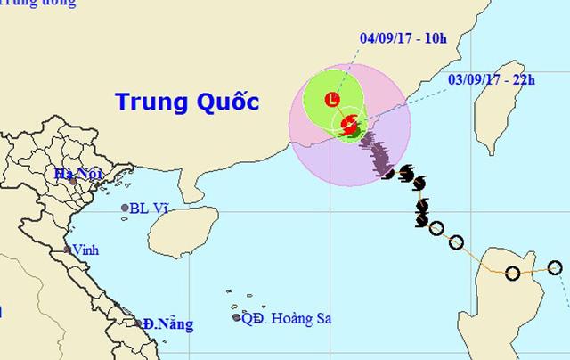 Bão số 8 không vào Việt Nam, miền Trung nắng nóng diện rộng