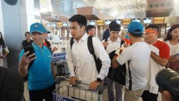 Olympic Việt Nam rời Indonesia, lên chuyên cơ về nước