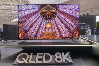 Ngắm mẫu TV QLED 8K đầu tiên tích hợp trí tuệ nhân tạo