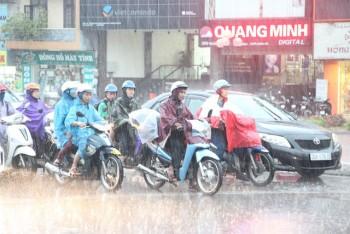 Ảnh hưởng không khí lạnh, miền Bắc có nơi mưa rất to