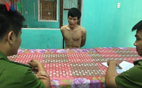 canh sat 113 hue khong che doi tuong ngao da de doa doi dap pha nha dan