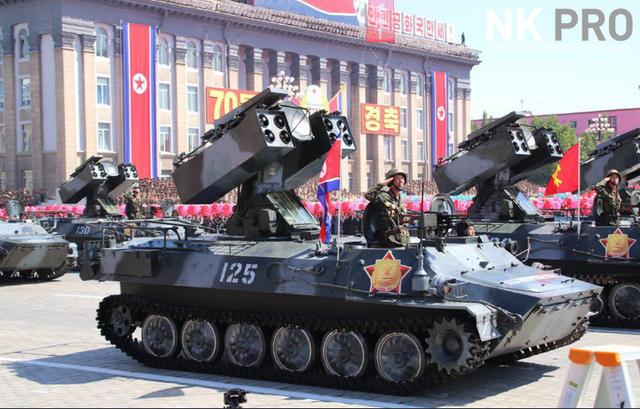 Dàn phương tiện quân sự phô diễn sức mạnh tại lễ duyệt binh Triều Tiên