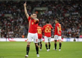 Anh 1-2 Tây Ban Nha: Chiến thắng thuyết phục