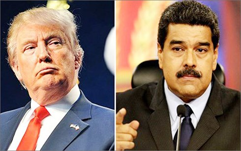 venezuela len an can thiep quan su cua my