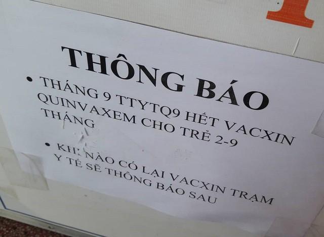 thieu vac xin 5 trong 1 vi 3 lo combe five khong dat chat luong