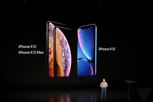 apple ra mat 3 phien ban iphone moi xs xs max hai sim va xr nhieu mau sac